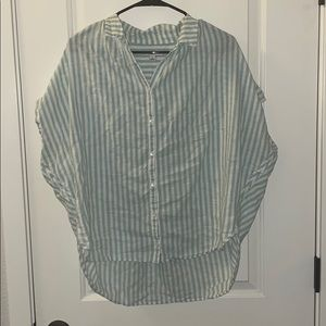 Madewell Boxy striped blouse